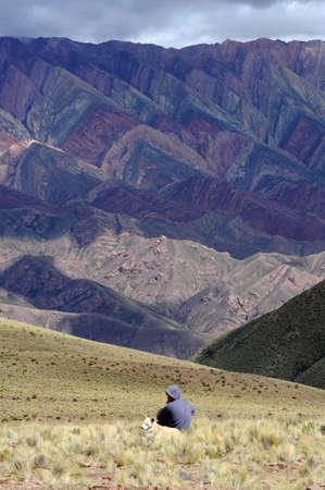 Il Massiv Hornocal sulla Quebrada de Humahuaca