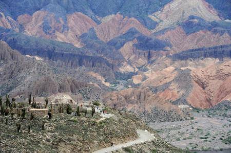 sito archeologico di Pucara vicino a Tilcara in Argentina Ande Archivio Fotografico