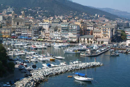 Bastia on Corsica island Editorial