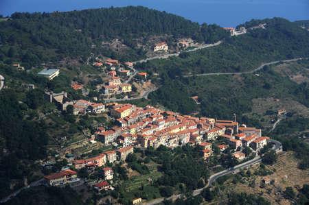The village of Marciana on Elba island Stock Photo - 10904856