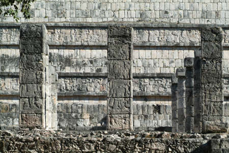 ��archeological site�: archeological site of Chichen Itza Editorial