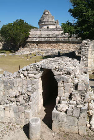 ���archeological site���: archeological site of Chichen Itza Editorial
