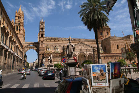 the cathedral of Palermo on Sicily