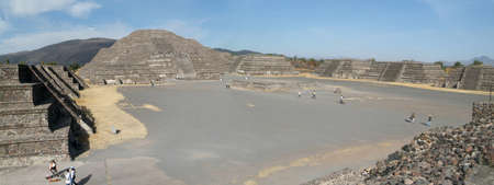 archeological site of Teotihuacan at Mexico