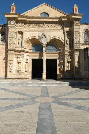 cattedrale del 16 � secolo a Santo Domingo Editoriali