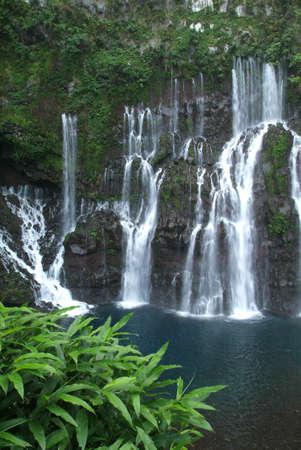 Langevin cascata di R�union
