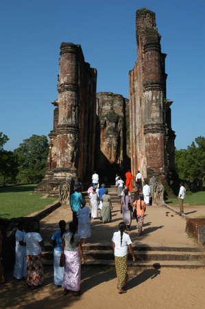 polonnaruwa: archeological site of Polonnaruwa  Editorial