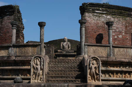 ���archeological site���: archeological site of Polonnaruwa  Stock Photo