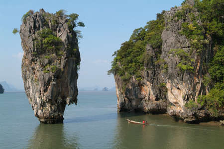 James Bond island Phang Nga near Phuket photo