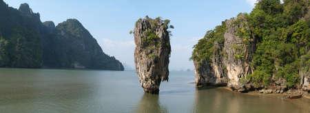 james bond: James Bond island Phang Nga near Phuket