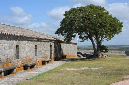 rocha: fortress Santa Teresa near Rocha Uruguay
