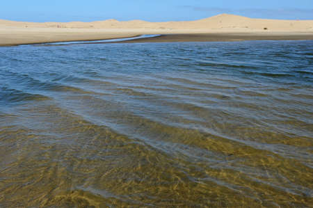 the beach of Valizas on the Uruguayan coast