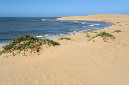 the beach of Valizas on the Uruguayan coast Stock Photo - 11048397