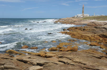the lighthouse of Cabo Polonio on the Uruguayan coast