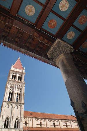 lorenzo: cathedral of San Lorenzo at Trogir UNESCO world heritage site