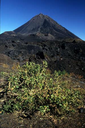 Vulcano Fogo on the Cabo Verde archipelago