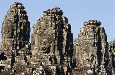 archaeological: archaeological site of Angkor Stock Photo