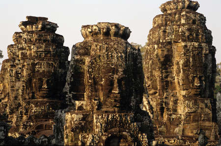 archaeological site: archaeological site of Angkor Stock Photo