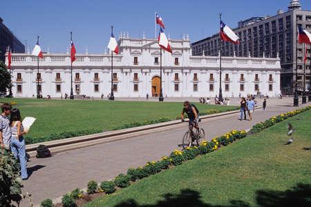 Santiago del チリのラ モネダ宮殿