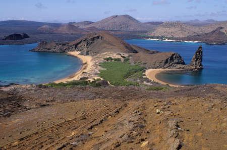 Bartolome island at Galapagos island