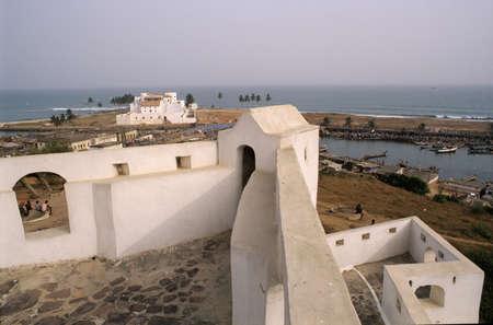 castle St. George at Elmina, Ghana