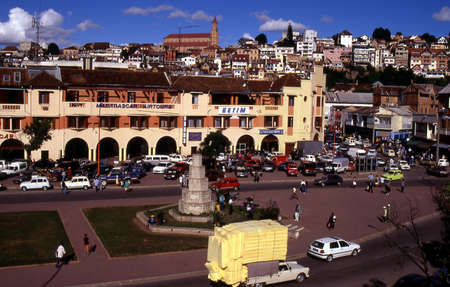 The city or Antananarivo capital of Madagascar Editorial