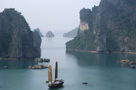 Halong Bay on Vietnam Stock Photo - 11352942