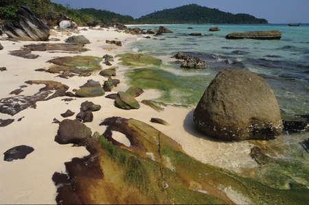 Bai Sao spiaggia sull'isola di Phu Quoc, in Vietnam
