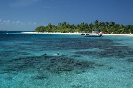 Sombrero island on Morrocoy national park