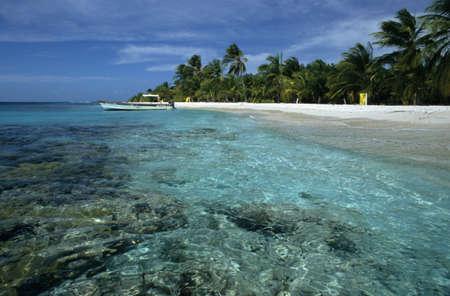 Sombrero island on Morrocoy national park