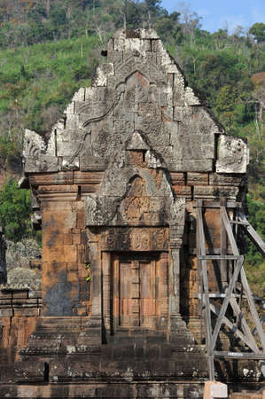 archaeological site: the archaeological site Wat Phu on Laos