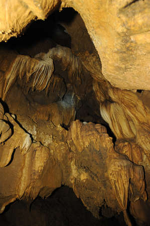 pa: The cave of Pa Pong near Vang Vieng on Laos Stock Photo