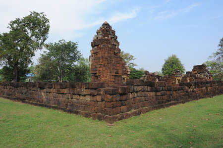 archaeological site: archaeological site of Khok Meoang on Thailand Stock Photo