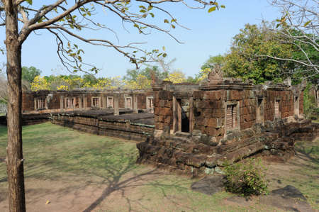 archaeological site of Phnom Rung on Thailand