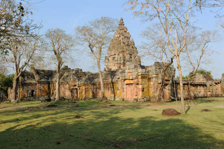 rung: archaeological site of Phnom Rung on Thailand