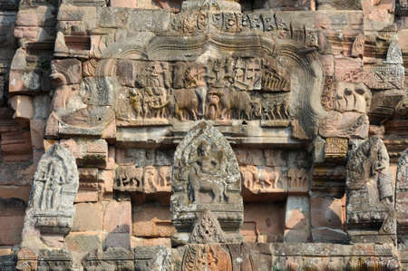archaeological: archaeological site of Phnom Rung on Thailand