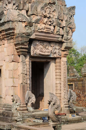 archaeological site of Phnom Rung on Thailand photo