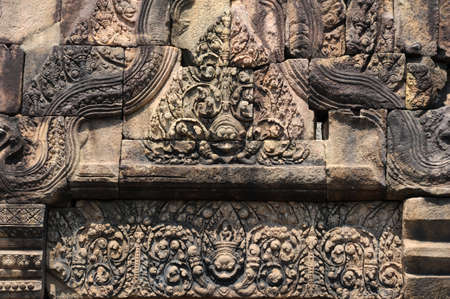 archaeological site of Prasat Muang Tam on Thailand