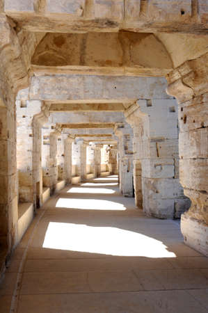 arles: The roman arena of Arles on France Editorial