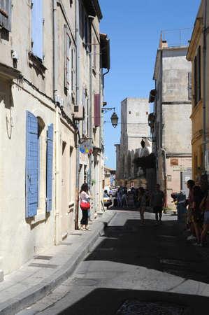 arles: street at Arles on France