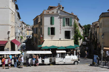 arles: The old town of Arles on France