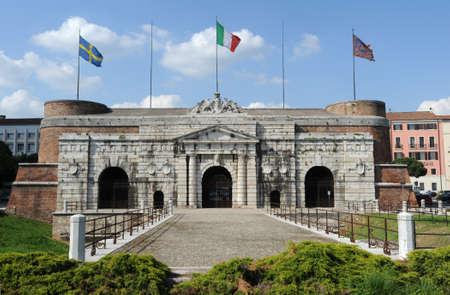 palio: The City door of Palio at Verona on Italy