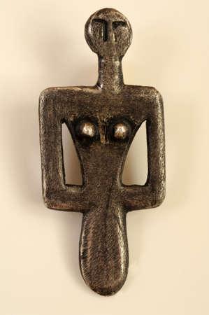dea: Sculpture of Dea Madre of Sardinia on Italy