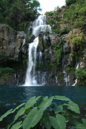 les Cormorans waterfall on Reunion island, France Stock Photo - 18463124