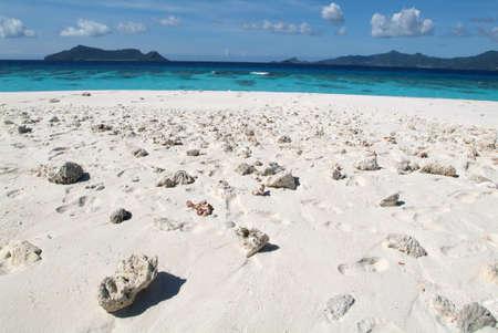 Spiaggia Virgen all'isola di Mayotte, Francia