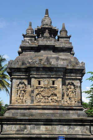 The archaeological site of Pawon on the island of Java photo