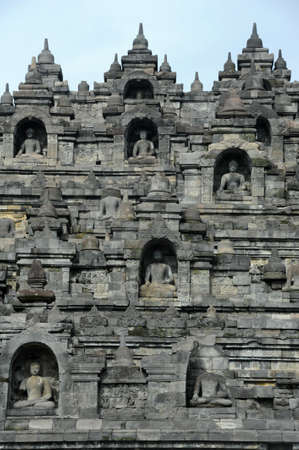 archaeological site: The archaeological site of Borobudur on the island of Java