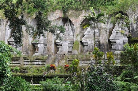Il tempio di Gunung Kawi a Tampaksiring su Bali