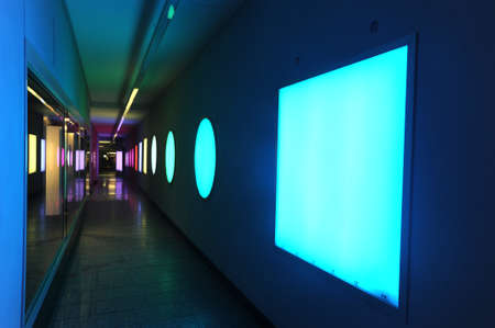 underpass: Forms and colours of a underpass at Bern on Switzerland