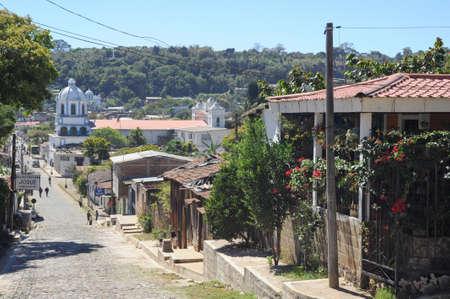 conception: The colonial village of Conception de Ataco on El Salvador Editorial